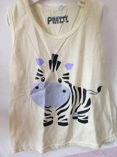 Baju zebra kutung 5-6th