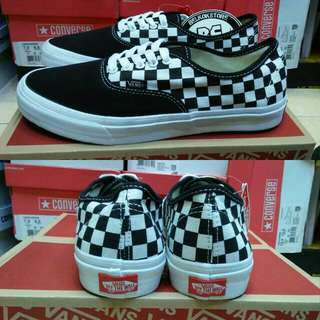 Vans authentic checkerboard black/white