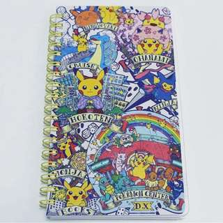 Pokemon Center TOKYO DX Exclusive Pikachu Walking Map Vertical slim notebook (Pre-Order)