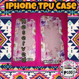 iPhone 7+ Floral TPU Case