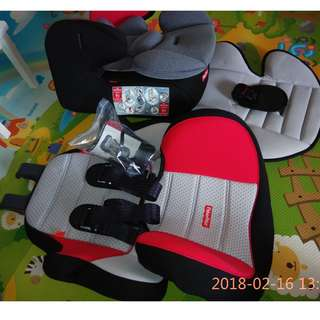 Fisher Price Cronos 3-in-1 Booster Car Seat in Red