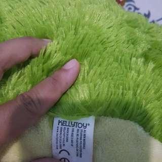 Green froggy dol