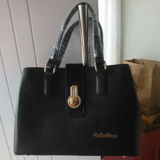 Handbag / tas jinjing hitam elegant
