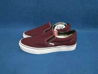 Vans slipon portroyal maroon white