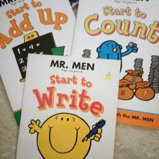 * Postage Included * Mr Men Learns
