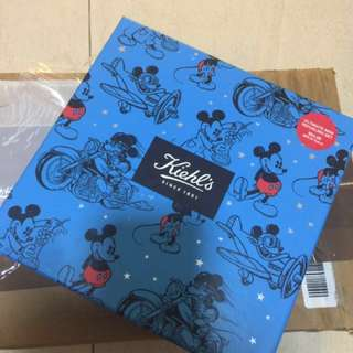 Kiehl's man disney skin clean cream set birthday gift