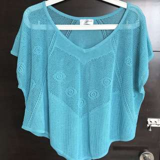 Gaudi Knit Blue Top