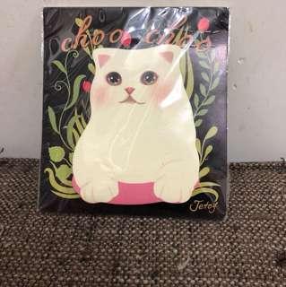 貓咪memo紙