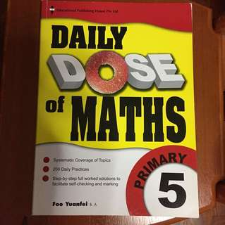 Daily Dose of Maths P5