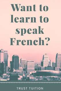 Affordable French private tuition