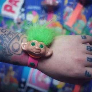極罕有!復古troll doll電子玩具錶
