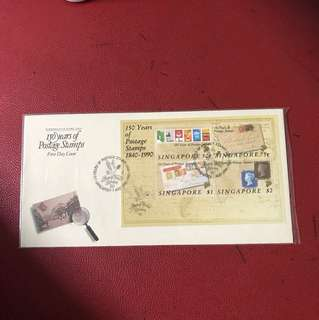 Singapore Miniature Sheet FDC As in Picture