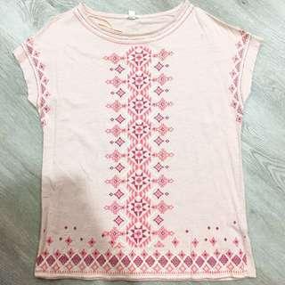 Esprit Aztec Embroidery Top