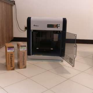 XYZ 3D printer with 2 extra filament