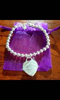 Tiffany and co ball bracelet