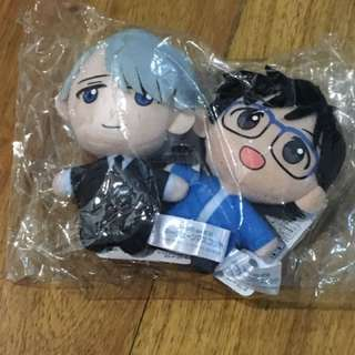 Yuri on Ice Yuri K Victor Mini Anime Plush Toy