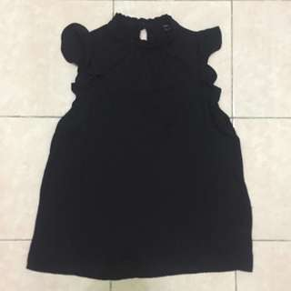 black blouse by forever 21