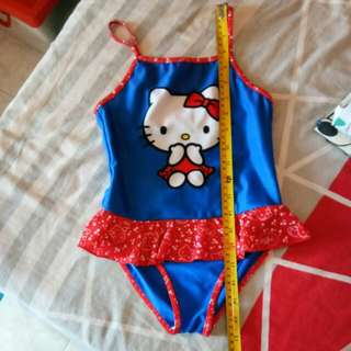 Hello kitty swimsuit size4