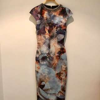 Ted Baker elegant dress Size 1