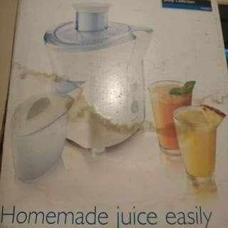 Philips homemade juice ( blm pernah dipakai )