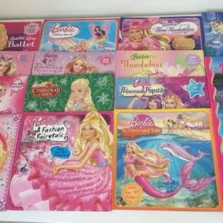 15 Barbie reading books bundle