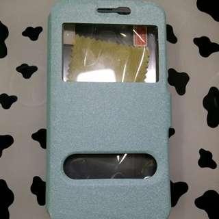 SAMSUNG J7008 手機套連mon貼