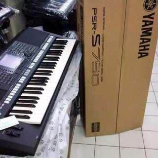 Keyboard Yamaha Psr S750 Siap Kirim
