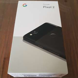Goggle Pixel 2, 64 GB, Just Black