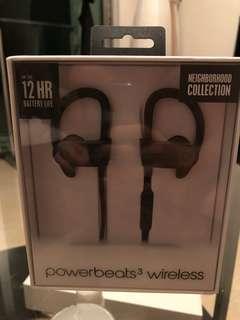 Powerbeats 3 - Neighborhood collection - Gray color