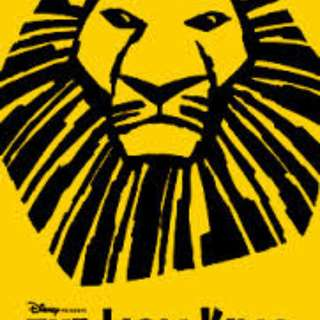 LION KING - March 29, 2018 showing - Orchestra Ticket for 1 person