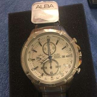 Alba鋼帶手錶