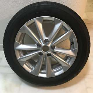 Nissan Qashqai Original Rim and Tyre