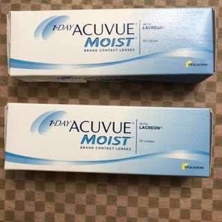 1-Day Acuvue Moist Con 隱形眼鏡