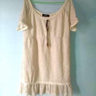 #TurunHarga Mini dress Cantik jd 30k