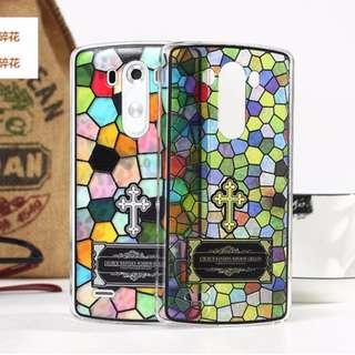 LG G3 小格碎花、大格碎花 彩雕工藝 超薄 手機殼 手機套 * 小格及大格 蝕本價$60 * 各餘最後2件