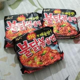 Samyang Hot Chicken Ramen Mie Goreng Korea