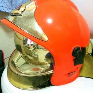 MSA Helmet Orange