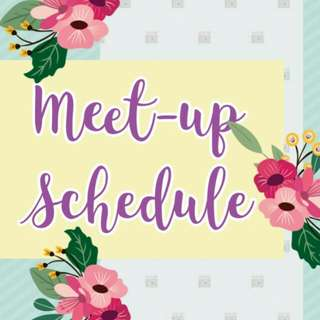 Meet-up Schedule