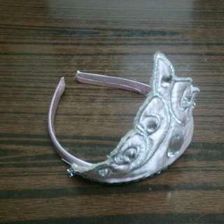 水晶皇冠布頭箍