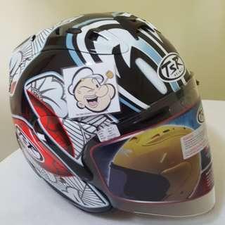 2202♡♡TSR RAM4 Shinya NAKANO Helmet 🦀 For SALE, Yamaha Jupiter, Spark, Sniper,, Honda, SUZUKI