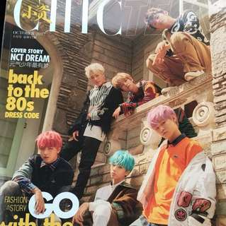 Nct dream chic teen magazine (limited ready stock)