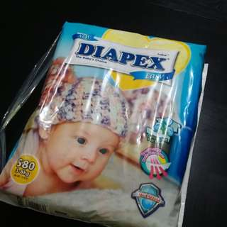 Diapers still in pack