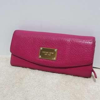 Auth Michael Kors pink wallet coach kate spade