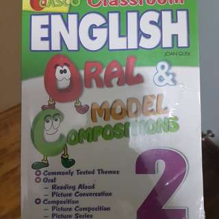 Primary 2 Casco oral and english model compo