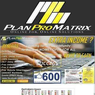 Planpromatrix: BEST HOME BASED JOB!
