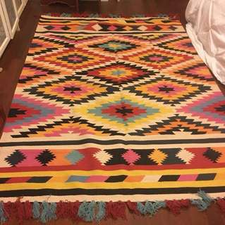 Imported New Nomad Multicolour carpet/Rug made in India
