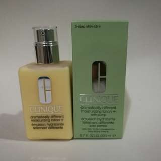 Reduced price! 200ML Clinique Dramatically different moisturizing lotion +