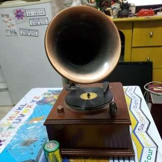 留聲機型收音機