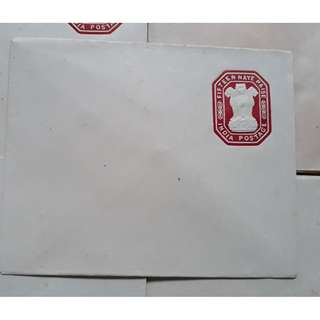 15np Fifteen Naye Paise, PSE, Envelope, Postal Stationery, India