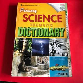 Primary Science Thermatic Dictionary